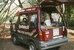 Mobile Postfiliale in Kambodscha. Vielen Dank an Berndt Kabisch!