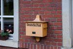Historischer Briefkasten im Ort Schmalzgrube. Vielen Dank an den Chemnitzer Kay!