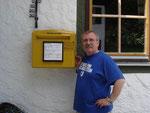 Der südlichste Briefkasten Deutschlands in Birgsau, 2006.