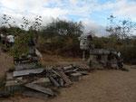 Post Office in der Post Office Bay, Floreana Island, Galapagos Inseln, Ecuador. Zur näheren Erläuterung siehe http://de.wikipedia.org/wiki/Floreana#Sehensw.C3.BCrdigkeiten. Vielen Dank an Silke Brune!