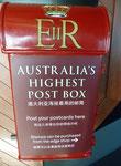 Höchstgelegener Briefkasten Australiens. Vielen Dank an Linke1896!