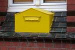 Eingemauerter Briefkasten in Sassnitz. Vielen Dank an Familie Seiler.