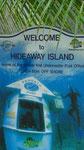 Werbeplakat für das einzige Unterwasserpostamt der Welt vor der Küste von Vanuatu. Vielen Dank an Ursel Schneider!