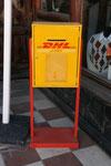 DHL, Ushuaia, Argentinien. Vielen Dank an Maik Schönefeld!