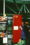 Flughafen Stansted, England, 2000.