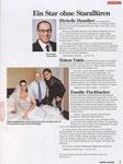 Schweizer Illustrierte, Ausgabe 7. Mai 2012,Tanja und Hakan Yakin mit SI-Fotograf Bruno Voser