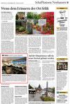 Schaffhausner Nachrichten, Ausgabe 11. Oktober 2011, Eröffnung Davidoff Lounge in der BBC Arena