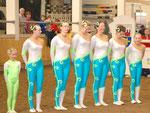 Das Bockteam: Jule, Sabrina, Ute, Marion, Silke, Kathi & Marina
