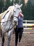 Ab mit dir auf's Pferd, Anke...