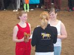 Platz 2 ging an Nicole & Jana aus Visbek