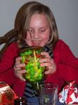 """Für Marina gab es ein """"Bonbon-Fasten-Glas"""" ;-)"""