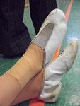 Sabrinas kaputter Fuß