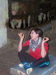 Kathi, musst du vorm Kürturnen erstmal meditieren?!