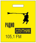 Радиоволны: Пакет с прорубной ручкой 25х30см