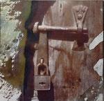 3. versperrte Türe