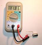 Kapazität zwischen Anschluss 2 und 3 = 11,86 µF
