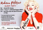 MADONNA REBEL HEART ALBUM PARTY