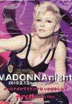 MADONNA NIGHT TOKYO