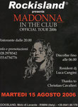 ROCKISLAND /OFFICIAL TOUR 2006/ITALY