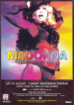 MADONNA STICKY AND SWEET TOUR CARDIFF
