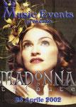 MADONNA TRIBUTE 25 APRILE 2002