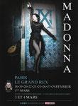 MADAME X PARIS LE GRAND REX/LUCKY RECORDS/ DOS VIERGE