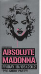 ABSOLUTE MADONNA 18/05/2012