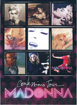 sticker card confessions tour margandising