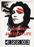 AMERICAN LIFE 4.22.03/CARTE PROMO STICKERS
