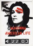 AMERICAN LIFE 4.22.03/CARTE PROMO STICKERS