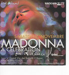 MADONNA A CELEBRATION ON A DANCE FLOOR