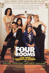 FOUR ROOMS TICKET RECTO