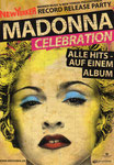 NEW YORKER MADONNA CELEBRATION 2009 STICKER CARD