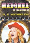 MADONNA IN HAMBURG 2001
