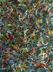 無題120224-2 アクリル、オイルパステル、水彩紙 18×14cm