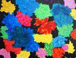 flower #29 アクリル、キャンバス 31.8×41cm