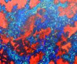 Nature #14 アクリル、アブソルバン、キャンバス 38×45.5cm