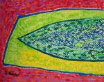 無題120412-1 アクリル、クレパス、水彩紙 18×14cm