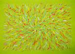 flower #1 アクリル、キャンバス 53×72.7cm