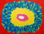 flower #30 アクリル、キャンバス 31.8×41cm
