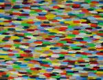 無題008 アクリルガッシュ、グロスメディウム、キャンバス 31.8×41cm