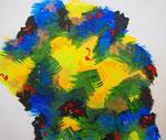 エネルギーの上昇 #2 アクリル、キャンバス 45.5×53cm