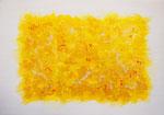 波動 #23 アクリル、キャンバス 15.8×22.7cm
