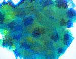 波動 #28 アクリル、キャンバス 31.8×41cm