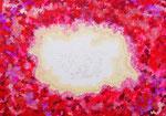 VOID #1 アクリル、ジェッソ、キャンバス 15.8×22.7cm