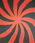 無題091104 アクリル、キャンバス 100×80.3cm