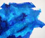 無題150107 アクリル、キャンバス 45.5×53cm