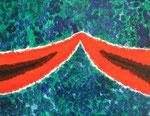 無題091206-2 アクリル、キャンバス 31.8×41cm