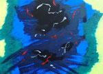 無題150814 アクリル、キャンバス 24.2×33.3cm