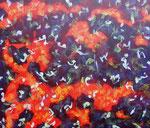 Nature #4 アクリル、ジェッソ、キャンバス 45.5×53cm